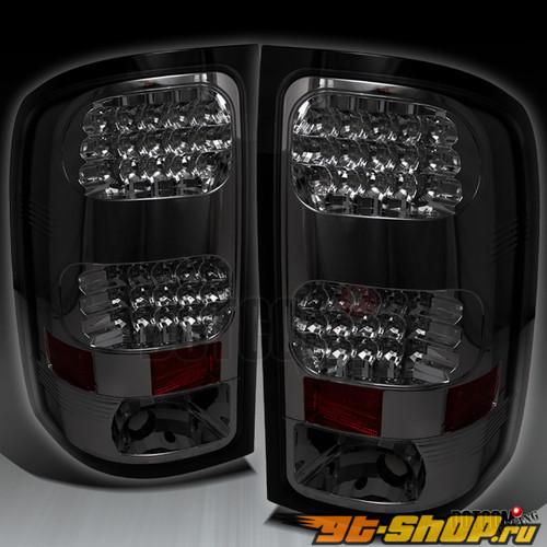 Задние фонари для GMC SIERRA 07-09 Тёмный
