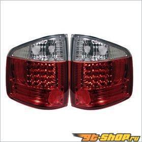 Задние фары на Isuzu Hombre 96-00 Euro Altezza Красный