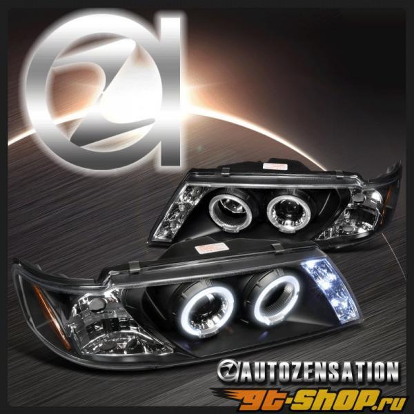 Передняя оптика для Nissan 200SX 95-99 Halo Projector Чёрный