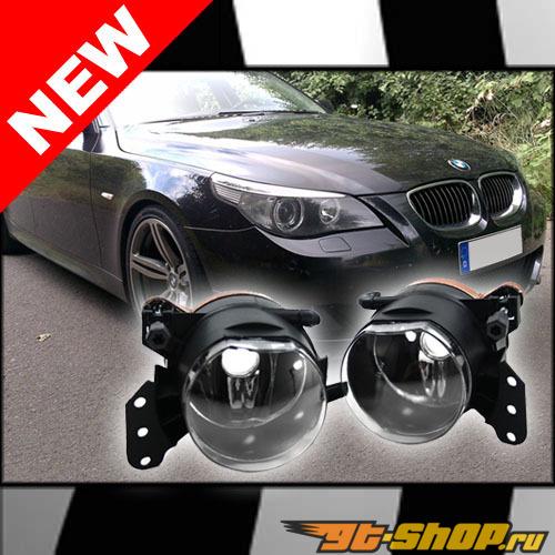 Противотуманная оптика на BMW 5 Series E60 04-10 стандартный FACTORY Стиль CLEAR