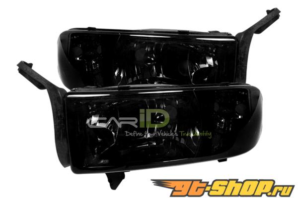 Передние фонари для Dodge Ram 94-01 Euro Тёмный