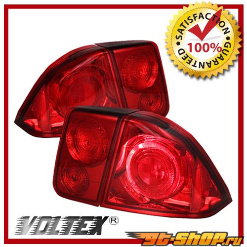 Задние фары для Honda Civic 01-05 Красный