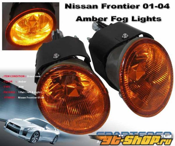 Противотуманная оптика для Nissan Frontier 98-04 DEPO стандартный Жёлтый