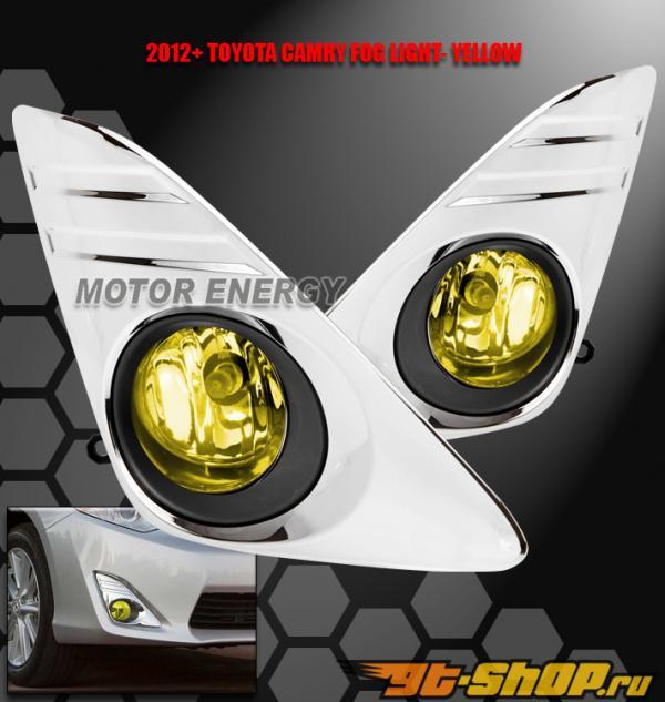 Противотуманные фары на Toyota Camry 11-13 Жёлтый