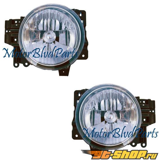 Противотуманная оптика для Toyota FJ Cruiser 07-12