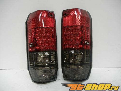 Задние фонари для Toyota Land Cruiser 98-07 JDM Тёмный