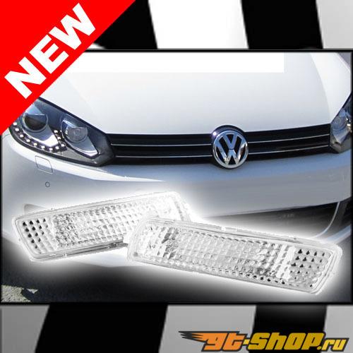 Поворотники для Volkswagen Golf VI 09-12 Кристалл CLEAR