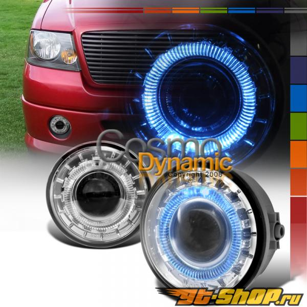 Противотуманные фары на Ford F-150 05-08 HALO PROJECTOR CLEAR