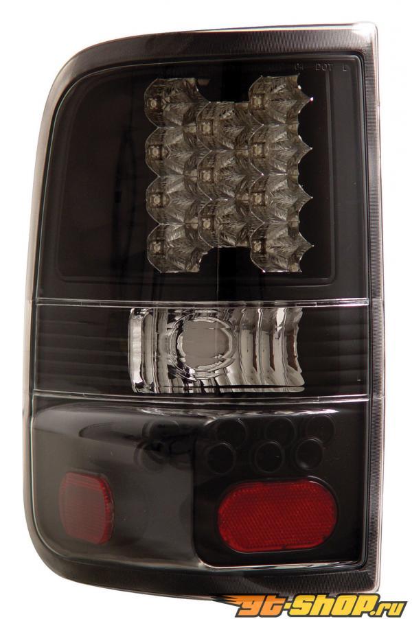 Задние фонари на Ford F-150 05-08 Чёрный