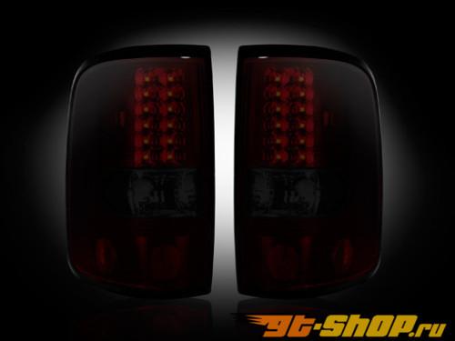 Задняя оптика для Ford F-150 05-08 Красный Тёмный