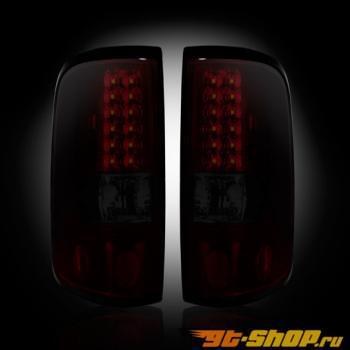 Задние фонари для Ford F-150 05-08 Dark Красный