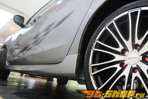 Аэродинамический обвес Kenstyle на Mazda 3
