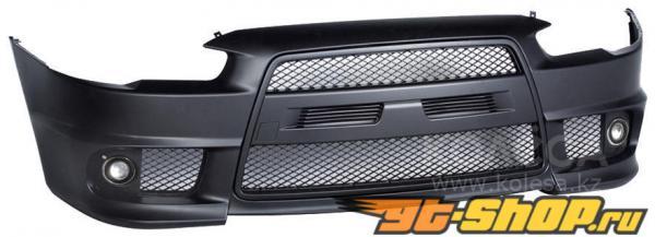 Аэродинамический обвес EVO Look на Mitsubishi Lancer X 2008+
