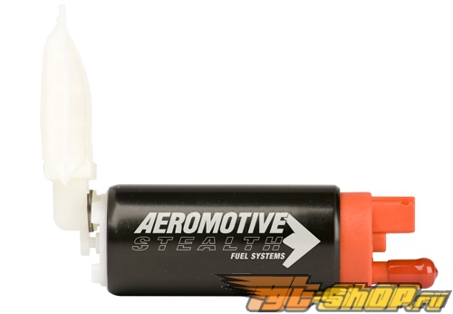 Aeromotive 340 Stealth Fuel Pump Offset Inlet Ford Probe GT 89-92