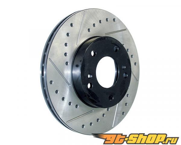 StopTech SportStop передний  Set тормозной Disc Drilled | Slotted BMW 7-Series 02-08