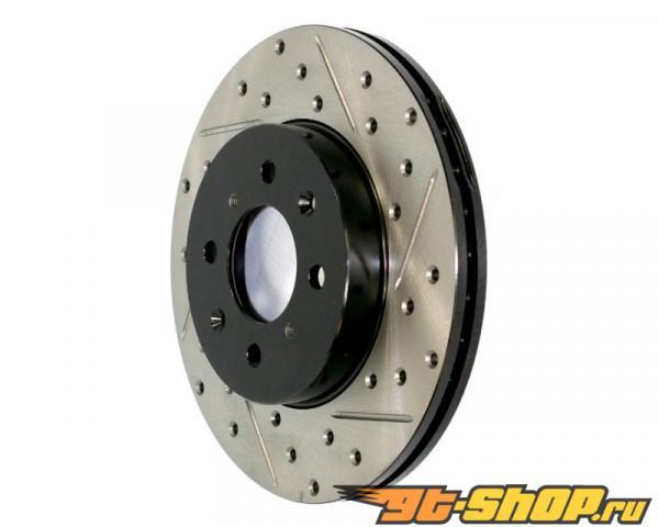 StopTech SportStop передний  Set тормозной Disc Drilled | Slotted BMW 7-Series 05-08