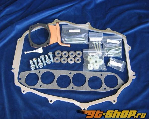 "Motordyne 1/2"" Copper ISO-Thermal Plenum Intake Spacer Nissan 350Z 03-06"