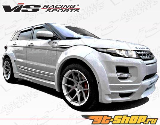 2012-2013 Land Rover Evoque Седан Euro Tech полный Add-On Lip комплект