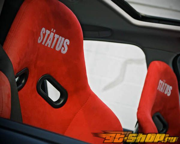 Status Racing Standard Ring GT Bucket Сидения Кевларовый Alcantara