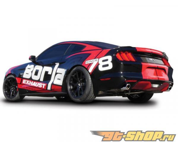 Borla S Type Carback Выхлопная система Ford Mustang GT 5.0L 2015