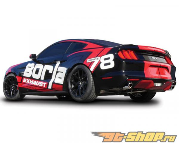 Borla ATAK 2.5 Inch Выхлопная система Ford Mustang GT 2015