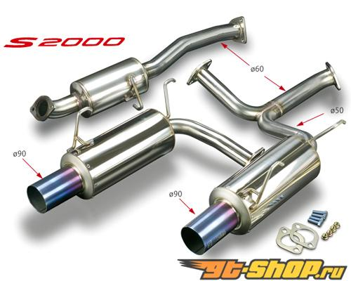 Toda Выхлопная система Honda F20C | F22C (AP1, AP2) 99-09