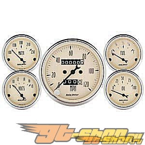 AutoMeter Antique Beige, 5 Pc. комплект, Mech [ATM-1808]