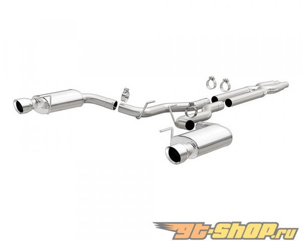 Magnaflow Street Series 3 Inch Satinless Steel Выхлопная система Ford Mustang GT 5.0 V8 2015