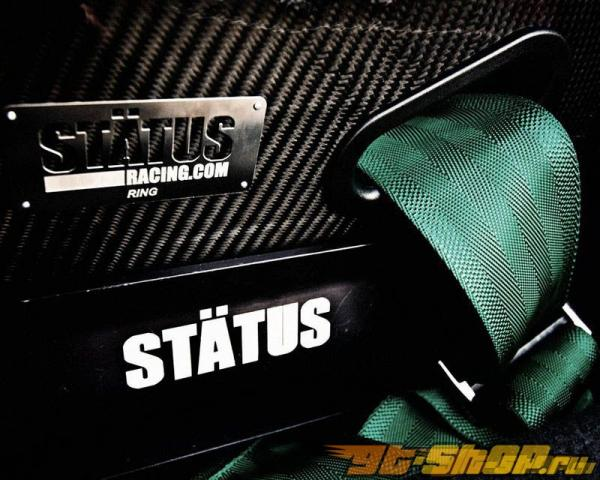 Status Racing Standard Ring Bucket Сидения Карбоновый Leather - FIA Approved