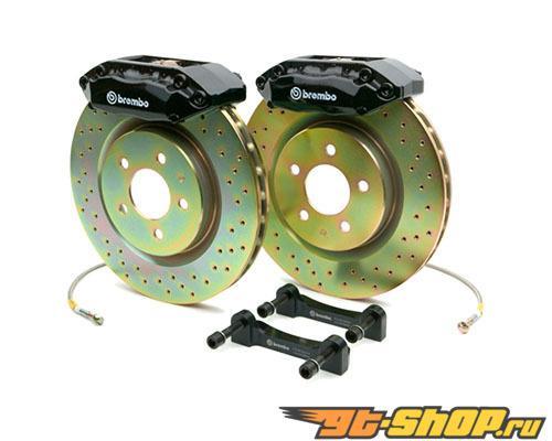 Brembo GT 13.5 Inch 4 поршневые 1pc Drilled Discs передний  тормозной комплект Audi A3 06-13