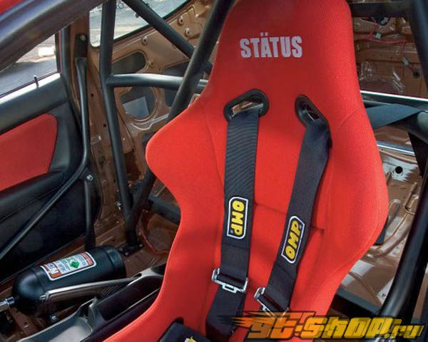 Status Racing Standard Ring Bucket Сидения Чёрный FRP Cloth - FIA Approved