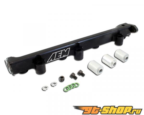AEM High Volume Fuel Rail Mitsubishi Eclipse Spyder GST 2.0L | 1997cc (122ci) L4 TURBO VIN:F [4G63] 96-98