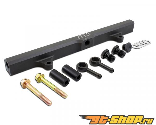 AEM High Volume Fuel Rail Nissan 240SX LE 2.4L | 2389ccL4 VIN:A [KA24DE] 97-98