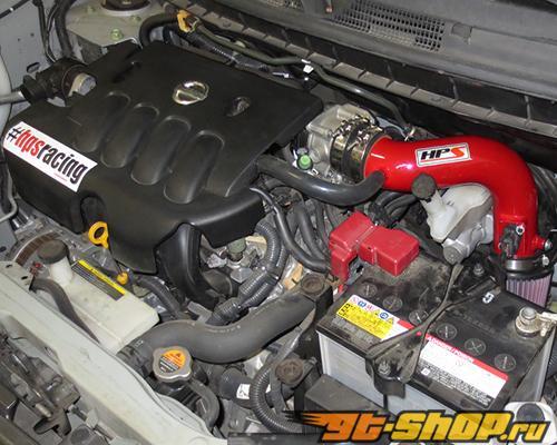HPS Shortram Air Intake комплект Красный Nissan Cube 1.8L 09-11