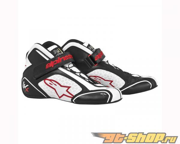 Alpinestars Tech 1-Kx Shoes 123 Чёрный Белый Красный