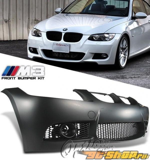 Передний бампер на BMW E92 2006-2010 M3 Option Racing