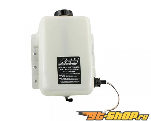AEM V2 Water | Methanol Injection 1 Gallon Tank комплект with Conductive Fluid Level сенсоры