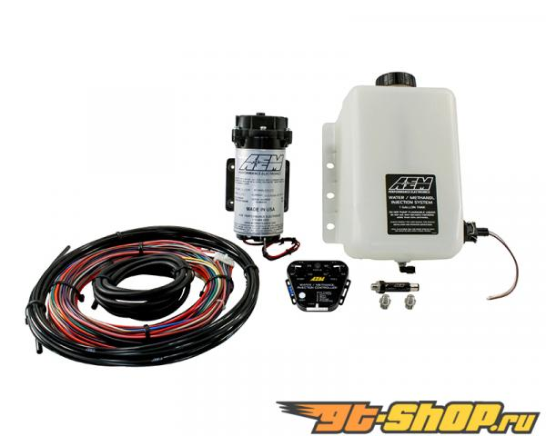 AEM V2 Water | Methanol Injection комплект Multi Input Controller with 1 Gallon Tank