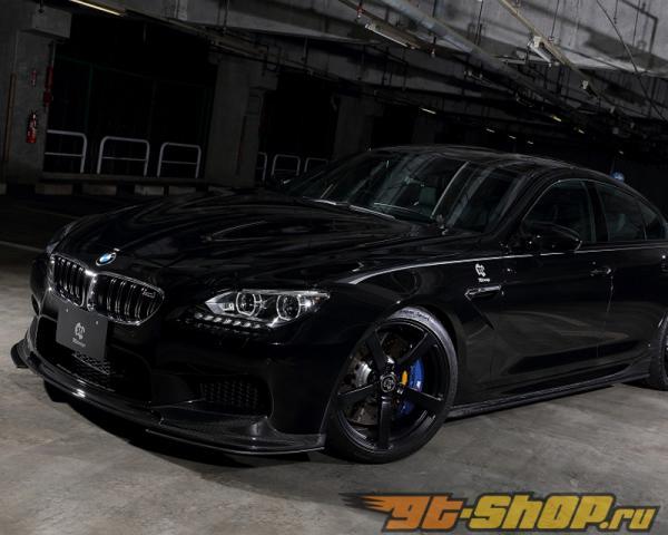 3D Design Карбоновый Передняя губа Спойлер Set BMW 6 Series F06 | F12 | F13 12-15