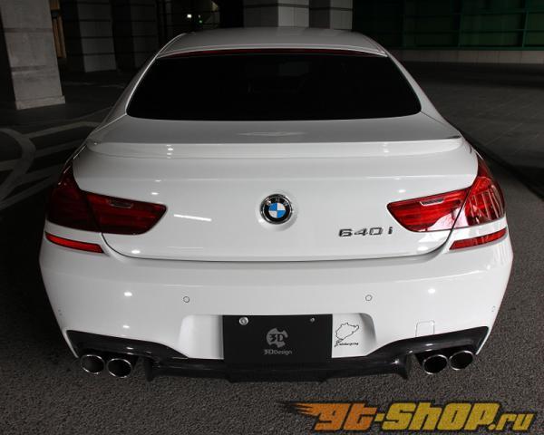 3D Design Карбоновый задний диффузор BMW 6 Series F06 | F12 | F13 M Sport 12-15
