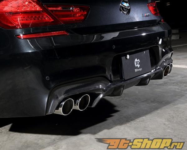 3D Design Карбоновый задний диффузор BMW 6 Series F06 | F12 | F13 12-15