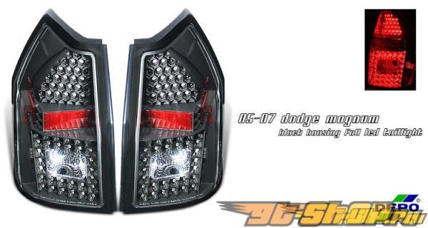 Задняя оптика на Dodge Magnum 05-07 Чёрный