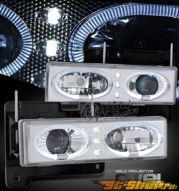 Передняя оптика на Chevrolet Blazer 1993 HALO