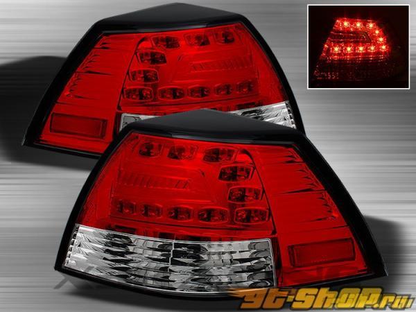 Задняя оптика для  PONTIAC G8 08-09 Красный CLEAR