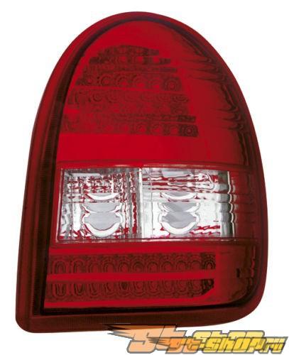 Задние фары для Opel Corsa B Красный/Кристалл