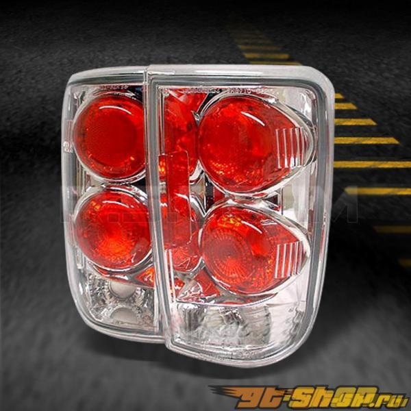 Задние фары для Chevrolet Blazer 00-04 Хром