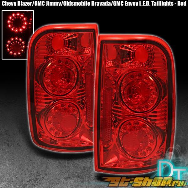 Задние фонари для Chevrolet Blazer 00-04 DUAL HALO