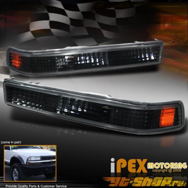 Поворотники для Chevrolet Blazer 00-04 Amber Чёрный Clear