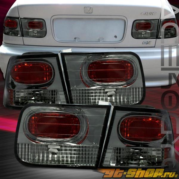 Задняя оптика на Honda Civic 96-00 Тёмный