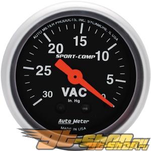 """AutoMeter 2"""" Vacuum, 30 In. Hg [ATM-3384]"""